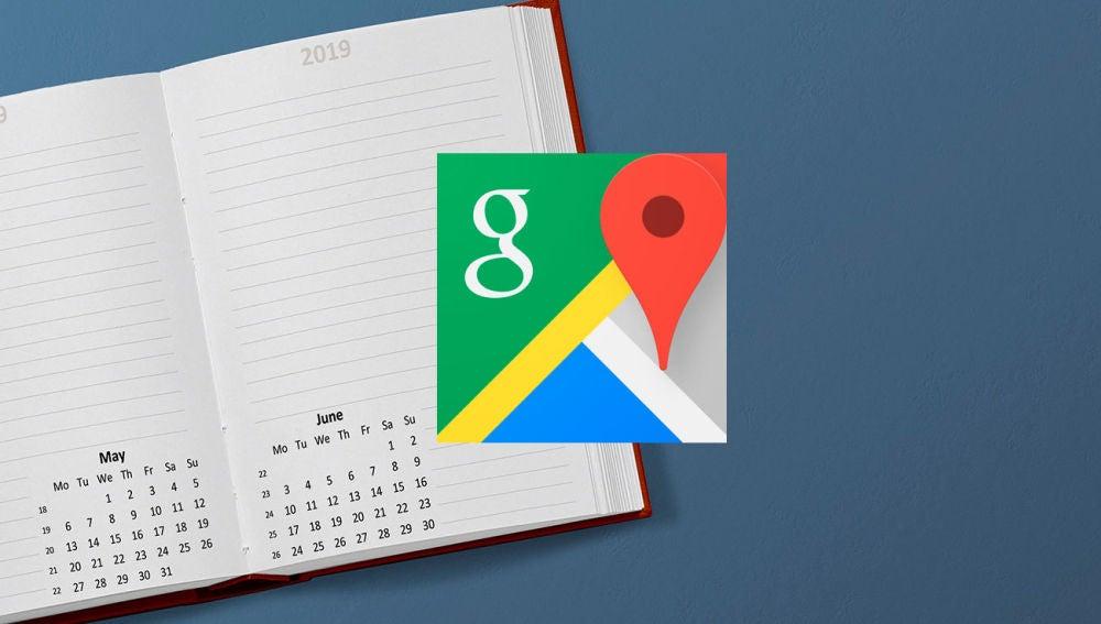 Google Maps contactos