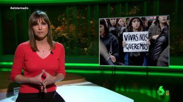 """Así defendió Sandra Sabatés la importancia del feminismo: """"Es la única respuesta ante asesinatos, agresiones y violencia sexual"""""""