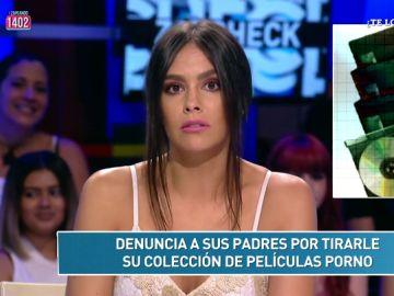 Denuncia a sus padres por tirar su colección porno y otras noticias del Zapcheck de Cristina Pedroche