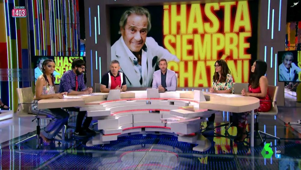 """La emotiva despedida de Zapeando a Arturo Fernández: """"Hasta siempre, chatín"""""""