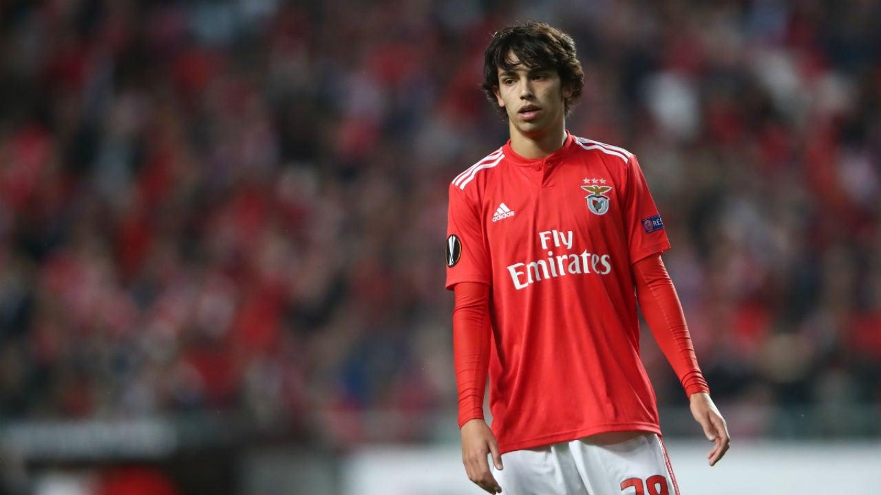 Joao Félix, con el Benfica