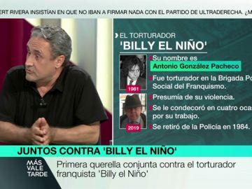 """Habla una de las víctimas de Billy el niño: """"Franco me da igual. Las torturas no son ideológicas, hay que erradicarlas"""""""