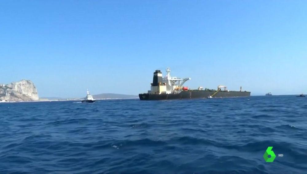España plantea una queja a Reino Unido tras la captura de un petrolero iraní en Gibraltar por parte de la Armada británica