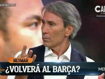 'Lobo' Carrasco insiste en su 'no' a Neymar y desvela los fichajes que haría para el Barcelona