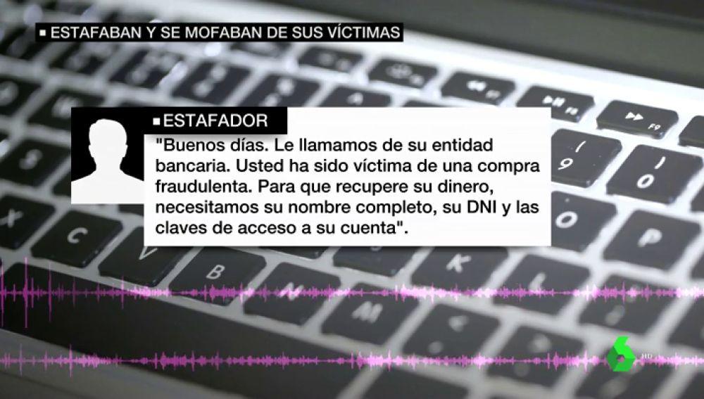 Estafan 35 mil euros en cinco días mediante una página web falsa