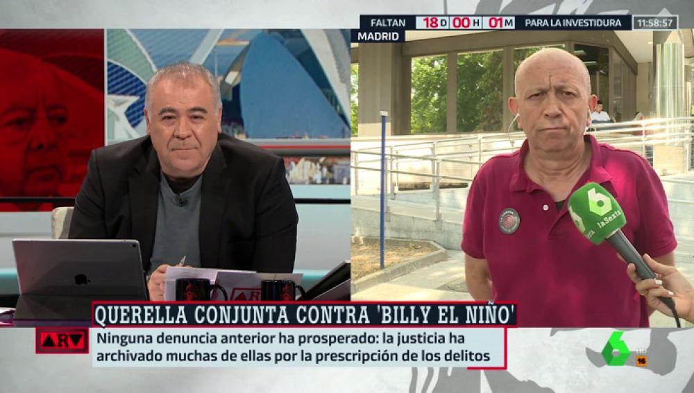 Jesús Rodríguez, víctima de Billy el Niño