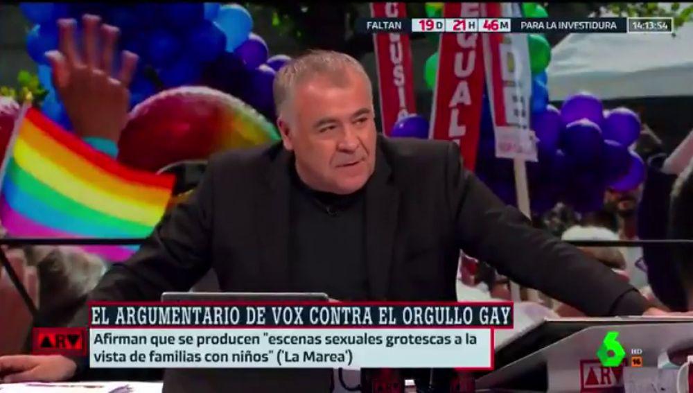 Piden firmas para que Ferreras se suba a la carroza de los osos en el Orgullo LGTBI