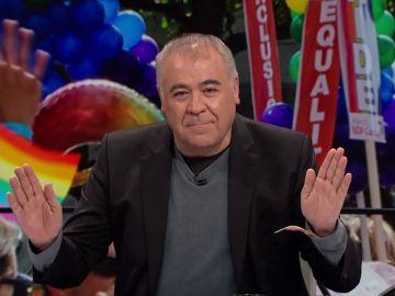 """Ferreras avisa de nuevo con la carroza del Orgullo: """"Como Vox siga descalificando, igual aparecemos"""""""