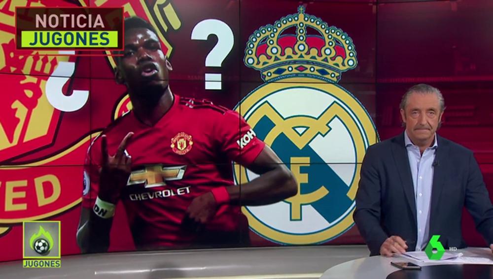 Pogba dice que su sueño es jugar en el Madrid de Zidane