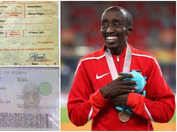 Edward Zakayo y sus certificados de edad