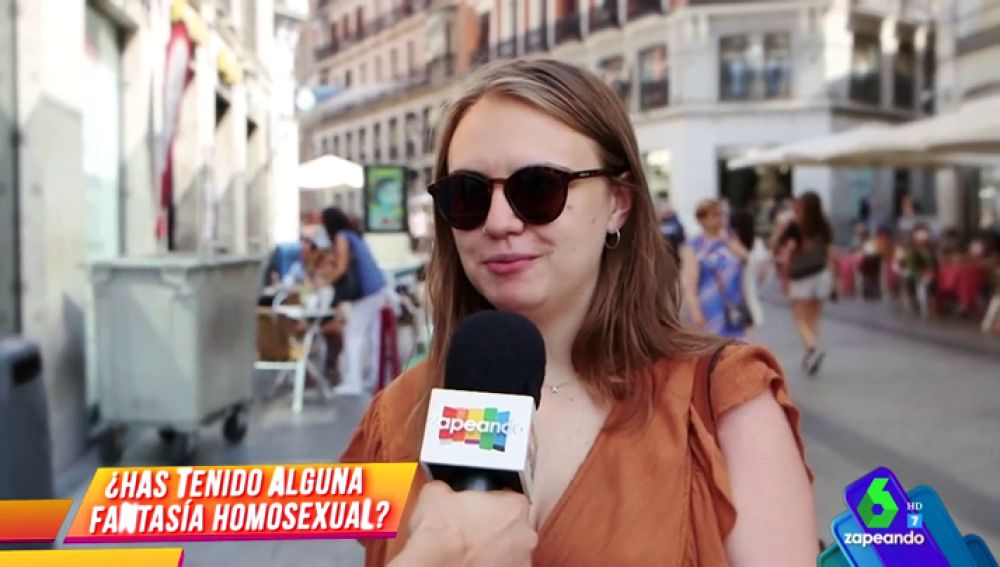 Y tú, ¿alguna vez has tenido una fantasía homosexual?
