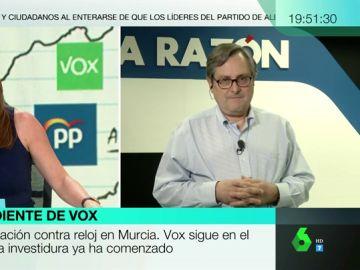 """Francisco Marhuenda, sobre la tensa relación entre Vox y Ciudadanos: """"No entiendo el complejo de pijoprogre de Cs"""""""