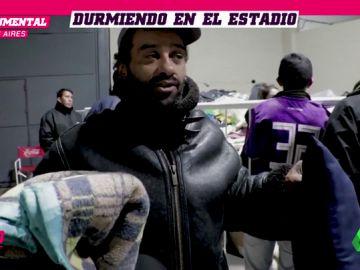 River Plate abre su estadio a los indigentes en la noche más fría del año en Argentina