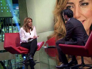 Susana Díaz e Íñigo Errejón, el sábado en laSexta Noche