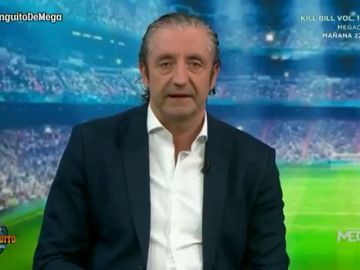 """El discurso de Josep Pedrerol para arrancar el último programa de 'El Chiringuito' de la temporada: """"Es un placer sentir que estamos juntos"""""""