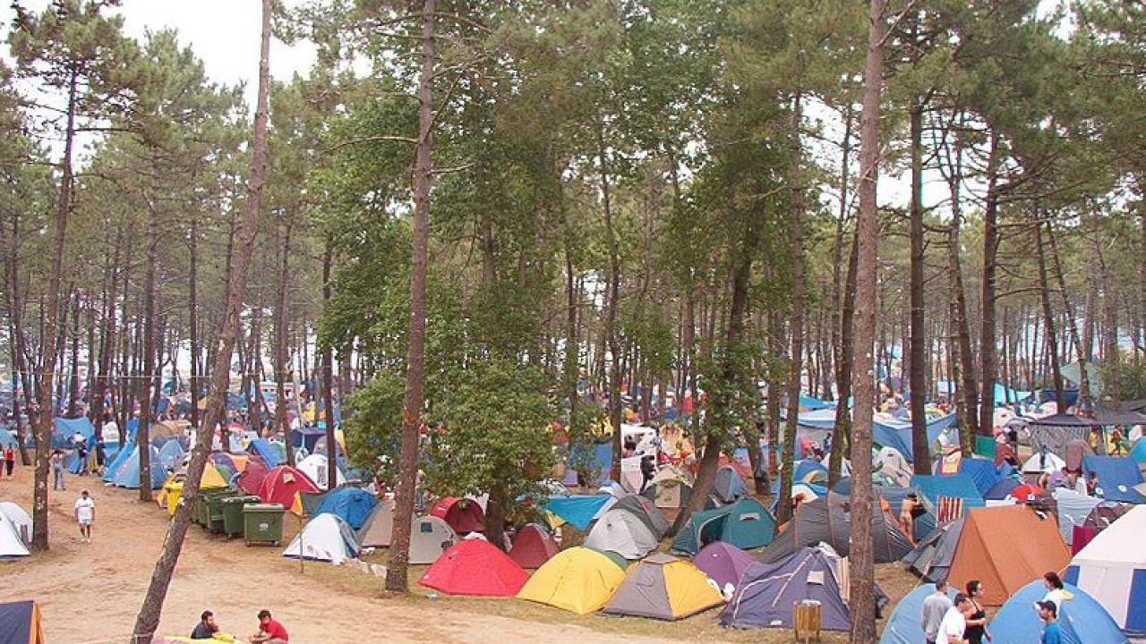 Acampada en Ortigueira