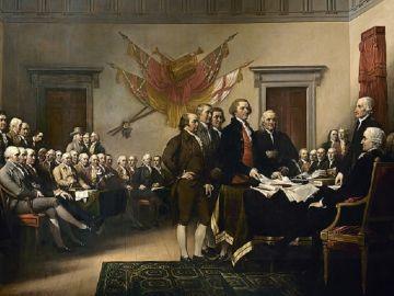 Declaración de Independencia, del pintor John Trumbull
