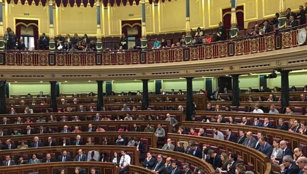 Vista general del pleno del Congreso