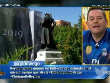 """El 'troleo' de Tomás Roncero con Joao Félix: """"A él le llevan al Prado y Hazard se encontró con 13 Champions"""""""