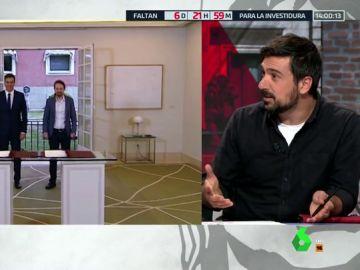 """Ramón Espinar: """"La consulta de Podemos es irreal porque plantea dos opciones que no están encima de la mesa"""""""