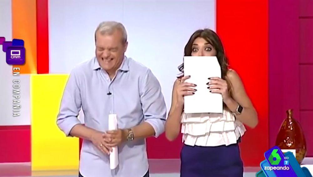 El divertido enfado de una mujer con Ramón García tras despertarla en directo