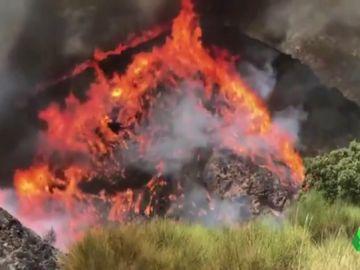 Incendio en Beneixama, Alicante