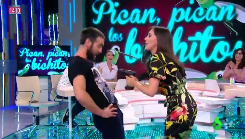Bailando Jon Plazaola y un taladro: así explica Boticaria García cómo nos muerden las pulgas