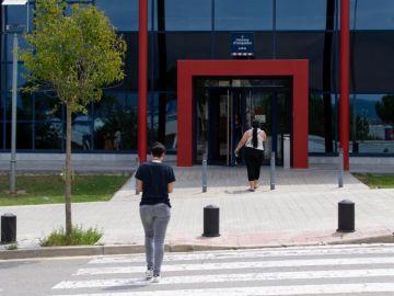 Vista de la Comisaría de los Mossos d'Esquadra en la localidad barcelonesa de Manresa