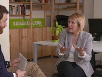 Burque entrevista a Silvia Barquero