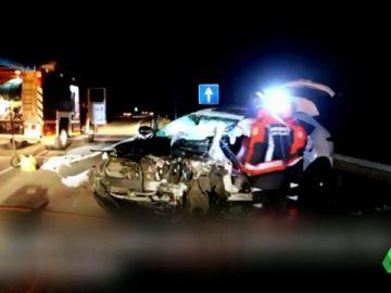 Un kamikaze muere y deja cinco heridos tras circular varios kilómetros en dirección contraria en Asturias
