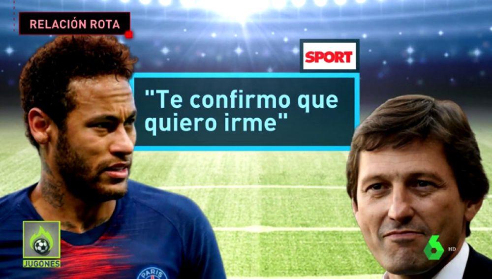La situación ya es insostenible: Neymar comunica que quiere irse del PSG