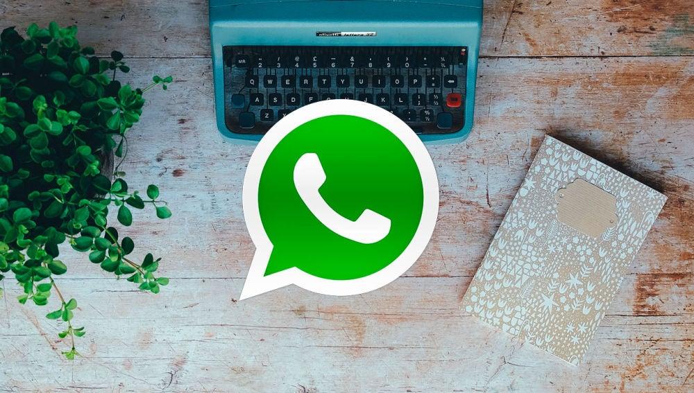 Máquina escribir WhatsApp