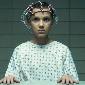 Eleven (Millie Bobby Brown) durante la primera temporada de 'Stranger Things'.