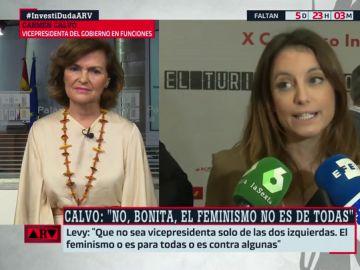 """Carmen Calvo: """"Dudo que en el campo conservador estén dispuestos a poner en tela de juicio el patriarcado"""""""