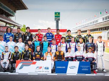 FIA F3 Pilotos 2019