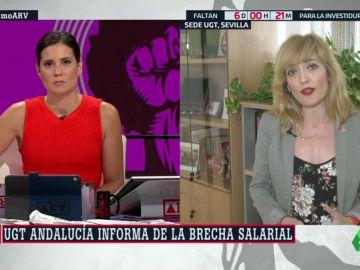 """Carmen Castilla, secretaria de UGT en Andalucía: """"La cara de la precariedad es la de las mujeres jóvenes"""""""