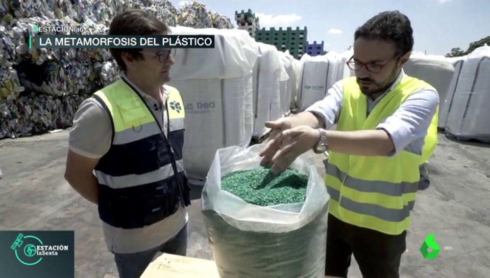 Así funciona una planta de reciclaje de plástico