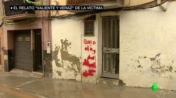 Exterior de la casa okupada por los jóvenes en Manresa