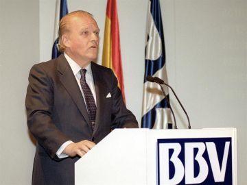 Emilio Ybarra, expresidente de BBVA