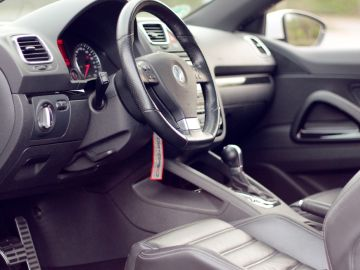 Interior de un Volkswagen