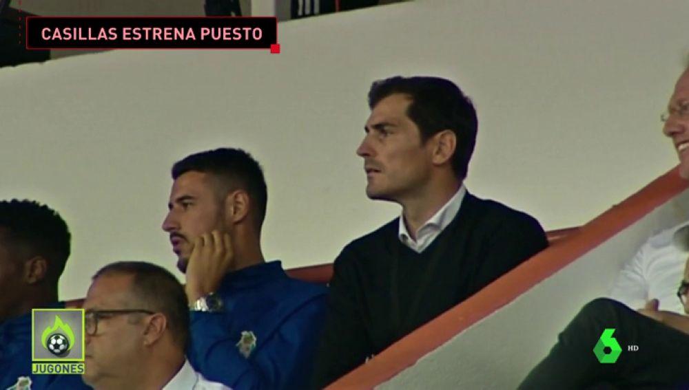 Casillas debuta como miembro del equipo deportivo del Oporto frente al Fulham