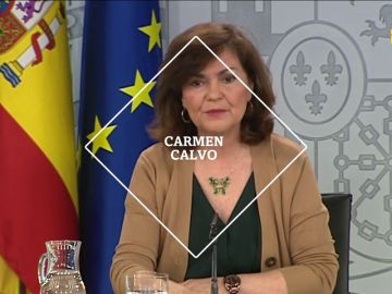 Carmen Calvo, el sábado en laSexta Noche