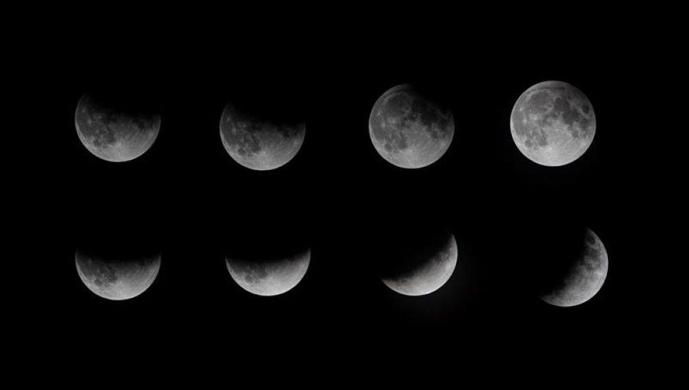 Las mejores fotos del eclipse lunar del 16 de julio