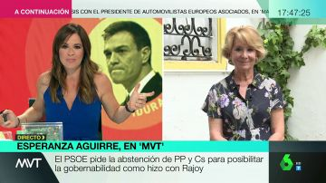 Esperanza Aguirre en Más Vale Tarde