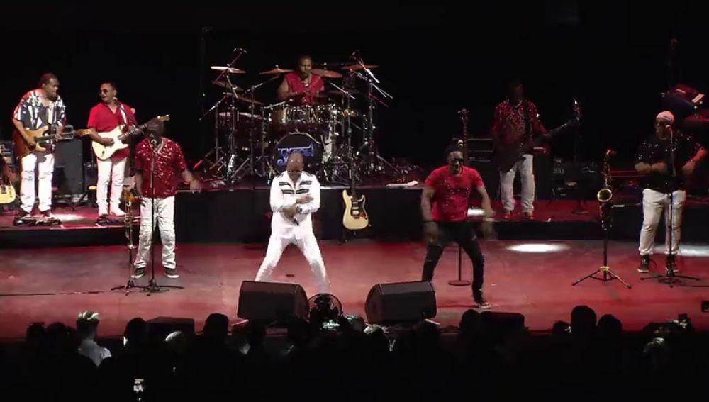 'Kool and the gang' en el escenario de Starlite Marbella.