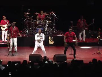 'Kool and the gang' en el escenario de Starlite Marbella.