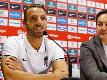 El delantero del Granada Roberto Soldado