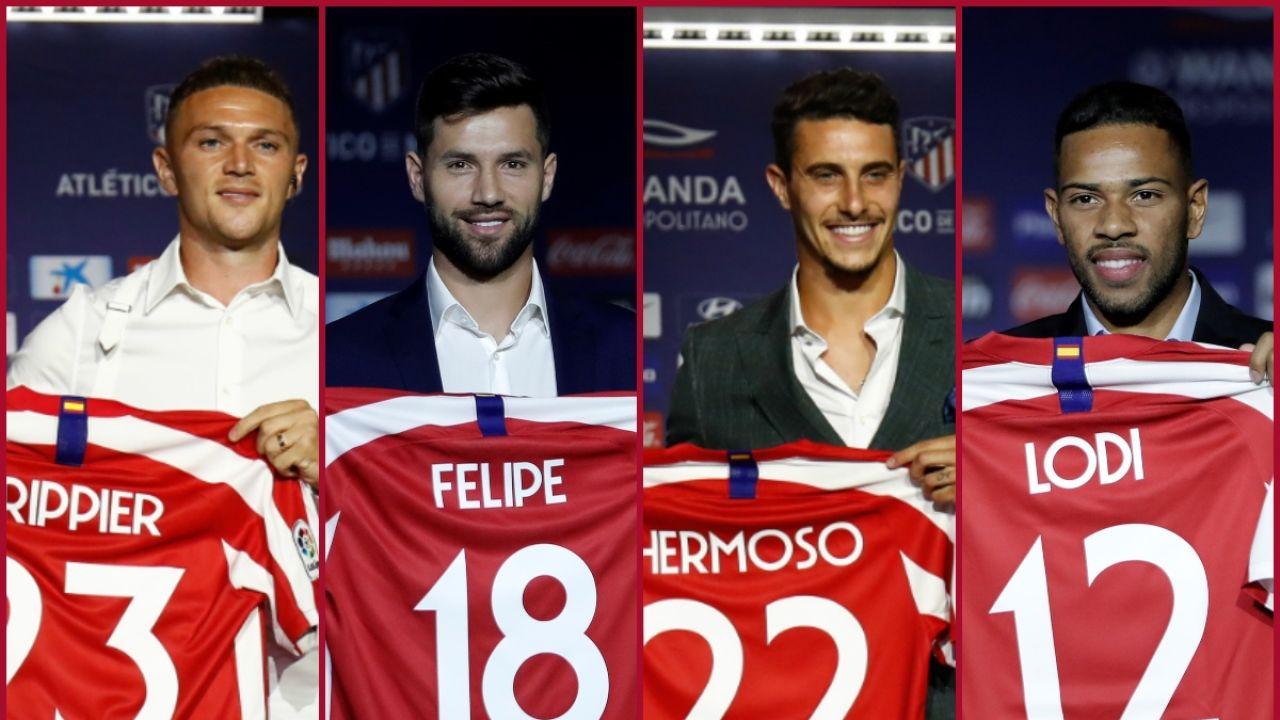La nueva defensa del Atlético