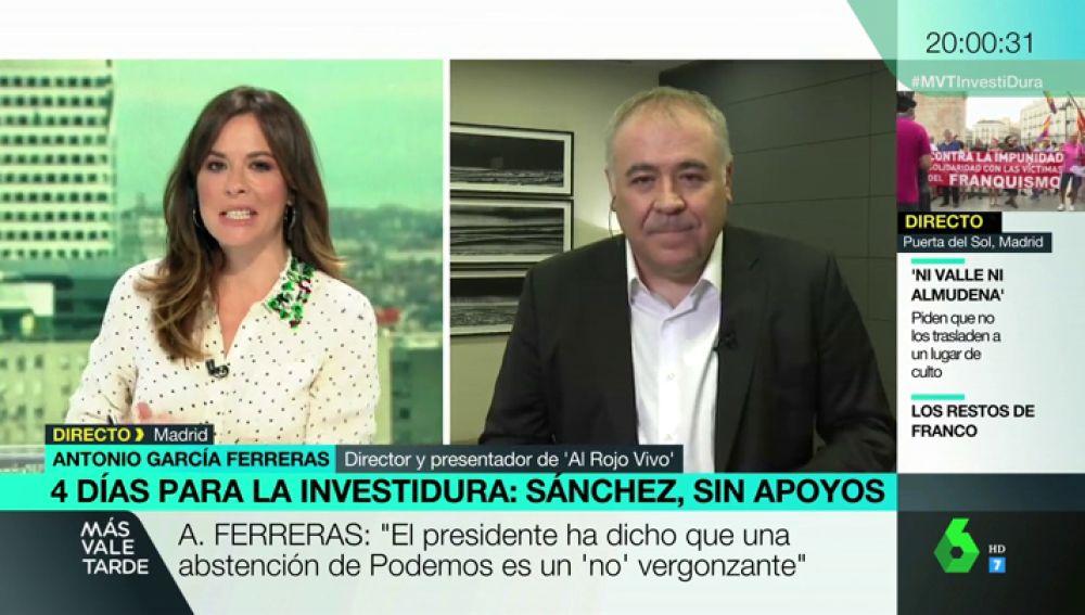 Antonio García Ferreras en Más Vale Tarde