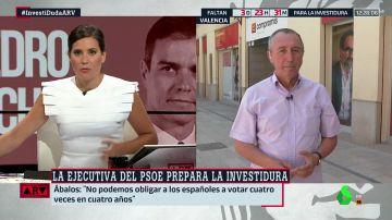 """Joan Baldoví: """"El PSOE debería trabajar con más discreción y hablar con los que podamos propiciar que haya una investidura"""""""